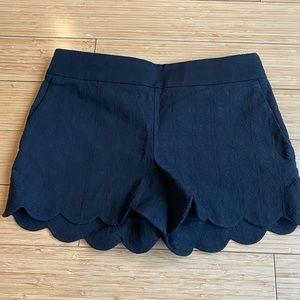 LOFT Scalloped Riviera Shorts
